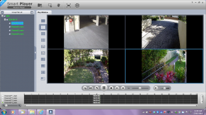 Sample footage of IP 1.3MP 4 Channel NVR Kit Job we installed at the Entrance NSW